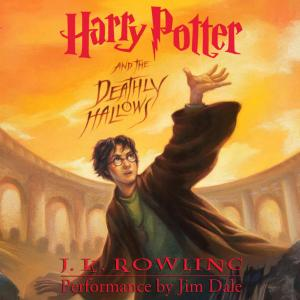 Harry Potter and the Deathly Hallows Audiobook Cover