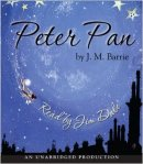 Peter Pan by J. M. Barrie audiobook cover